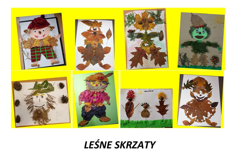 Obraz przedstawia prace uczniów.