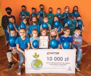 Otrzymaliśmy czek na 10000 PLN