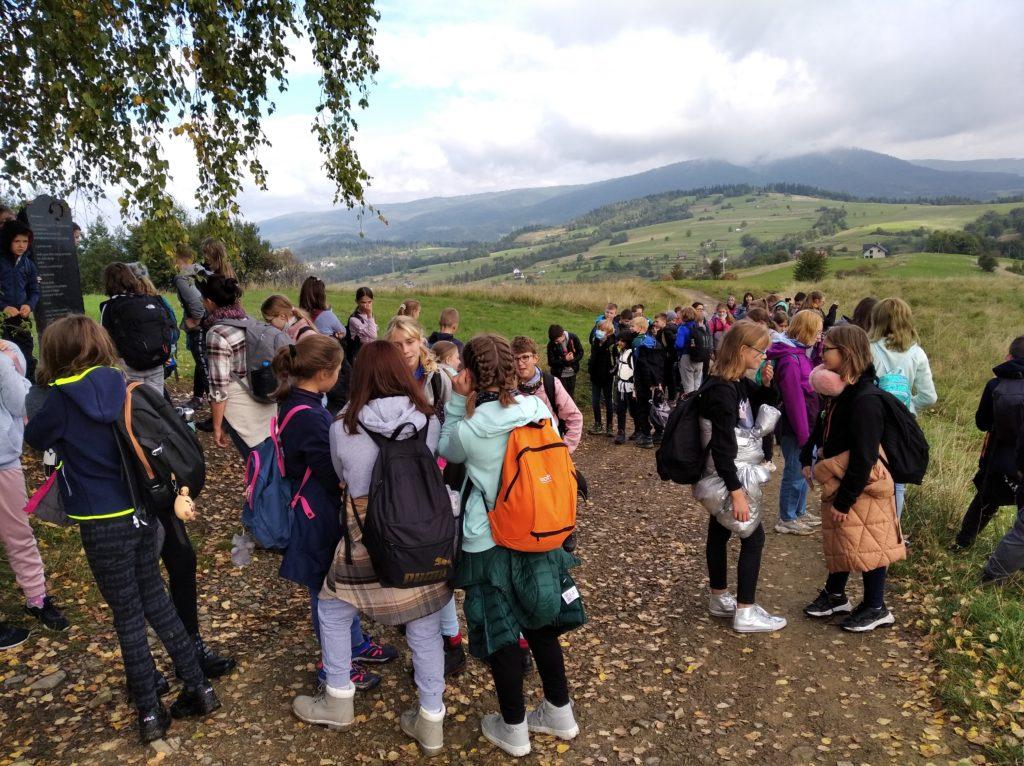 Zdjęcie grupy uczniów.