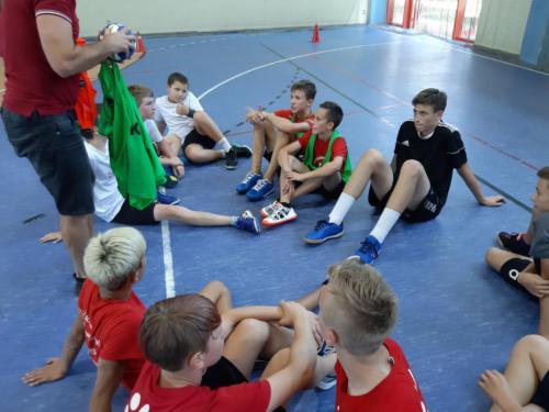 Handball at school 2019