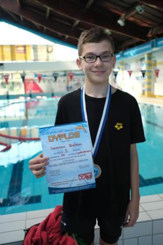 VIII Zawody Pływackie o Puchar Klubu Sportowego Delfin
